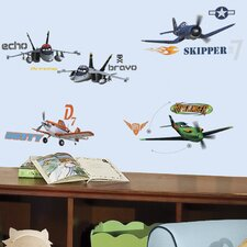 43 Piece Planes Peel and Stick Wall Decal Set