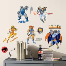 34 Piece Peel & Stick Wall Decals/Wall Stickers Thundercats Wall Decal Set