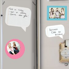 <strong>Room Mates</strong> Peel & Stick Wall Decals/Wall Stickers Notepad Dry Erase Wall Decal