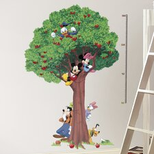 Mickey and Friends Peel and Stick Metric Growth Chart Wall Decal