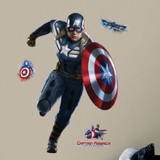 Captain America Giant Wall Decal