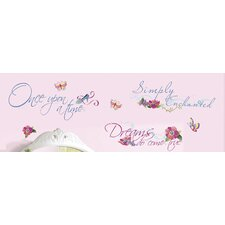 Licensed Designs Princess Quotes Wall Decal