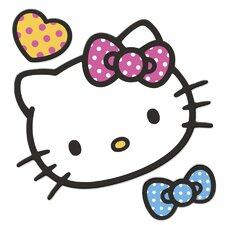 Popular Characters Hello Kitty Foam Characters Wall Sticker