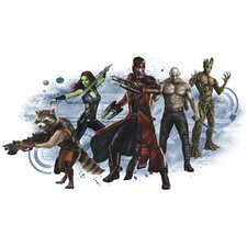 Popular Characters Guardians of the Galaxy Wall Graphic Peel and Stick Wall Decal