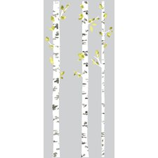 Deco Birch Trees Peel and Stick Giant Wall Decal