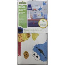 Popular Characters Sesame Street Me Love Cookie Monster Peel and Stick Wall Decal