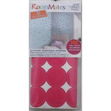 Multi Glitter Confetti Dots Peel and Stick Wall Decal