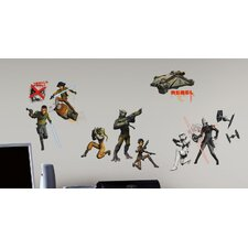 Popular Characters Star Wars Rebels Peel and Stick Wall Decal