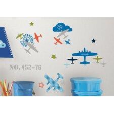 Zutano Aviation Peel and Stick Wall Decal