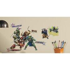 Popular Characters Teenage Mutant Ninja Turtles Movie Peel and Stick Wall Decal