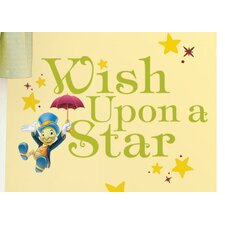 Popular Characters Wish Upon a Star Peel and Stick Wall Decal