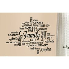 Family Quote Peel & Stick Wall Decal