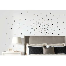 Neutral Confetti Dots Peel and Stick Wall Decal