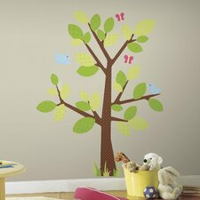 Kids Tree Giant Wall Decal Set