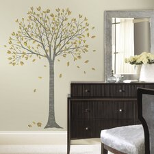 Deco Leaf Tree Peel and Stick Giant Wall Decal
