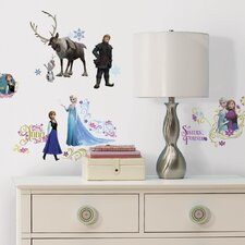 Frozen Characters Wall Decal Set