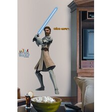 The Clone Wars Giant Obi-Wan Peel and Stick Wall Decal