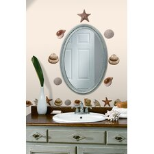 Sea Shells Peel and Stick Wall Decal