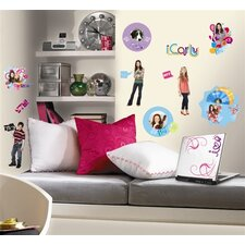 Favorite Characters 24 Piece Nickelodeon iCarly Wall Decal Set