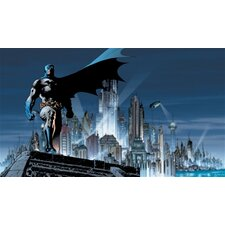 Surestrip Batman Chair Rail Prepasted Wall Mural