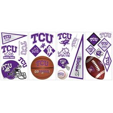 Texas Christian Horned Frogs Peel and Stick Wall Decal