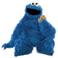 Licensed Designs Sesame Street Cookie Monster Giant Wall Decal