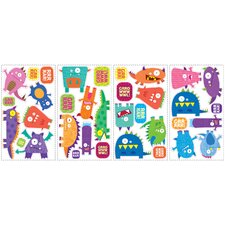 Studio Designs Monsters Peel and Stick Wall Decal
