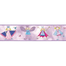 <strong>Room Mates</strong> Studio Designs Fairy Princess Peel and Stick Wallpaper Border