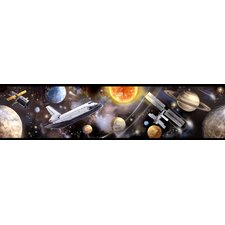 Studio Designs Space Travel Wallpaper Border