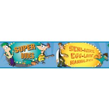Phineas and Ferb Wallpaper Border