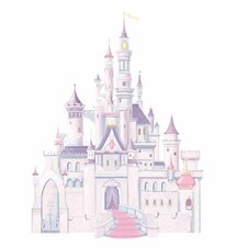 Licensed Designs Disney Princess Castle Peel and Stick Giant Wall Decal