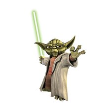 Favorite Characters The Clone Wars Giant Yoda Wall Decal