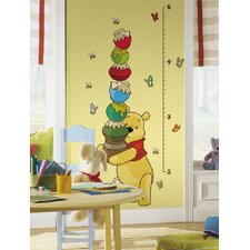 Licensed Designs Pooh Growth Chart Wall Decal