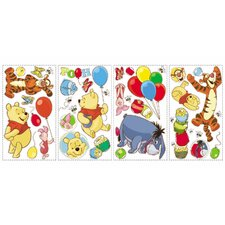 Licensed Designs Pooh and Friends Peel and Stick Wall Decal Us Only