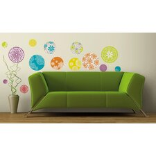 <strong>Room Mates</strong> Room Mates Deco 20 Piece Patterned Dots Wall Decal