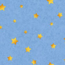 Toy Story Stars Wallpaper in Blue