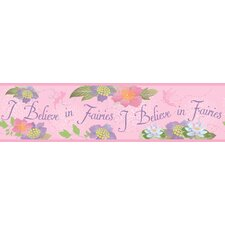<strong>Room Mates</strong> Believe In Fairies Wallpaper Border