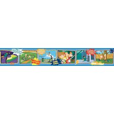 Phineus and Ferb Border in Blue