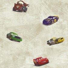 <strong>Room Mates</strong> Cars Racing Wallpaper