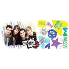 <strong>Room Mates</strong> Big Time Rush Giant Wall Decal