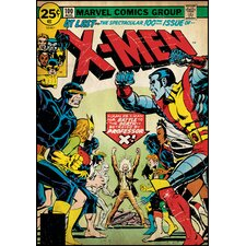 X-Men Comic Book Cover Wall Decal