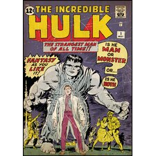 Hulk No. 1 Peel and Stick Comic Book Cover Wall Decal