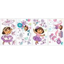 <strong>Room Mates</strong> Nickelodeon Dora The Explorer Enchanted Forest Adventures Wall Decal