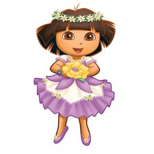 <strong>Room Mates</strong> Nickelodeon Dora The Explorer Enchanted Forest Adventures Giant Wall Decal