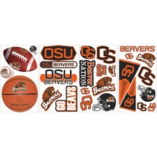 <strong>Room Mates</strong> 27 Piece Oregon State Wall Decal