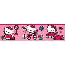 The World of Hello Kitty Peel and Stick Wallpaper Border
