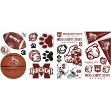 27 Piece Mississippi State Wall Decal