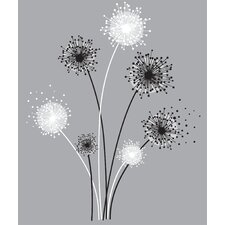 Graphic Dandelion Peel and Stick Giant Wall Decal