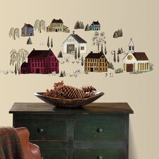 Country Scenic Peel and Stick Wall Decal