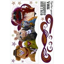 <strong>Room Mates</strong> Muppets Collage Giant Wall Decal